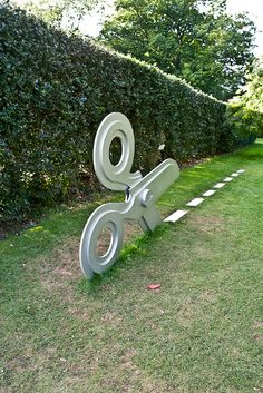 Sculpture In Context 2010 At The Botanic Gardens by infomatique.... love this
