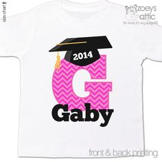 First grade / kindergarten / pre-school of ANY grade graduation shirt
