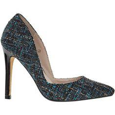 Black & Blue Tamara High Heels