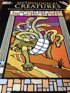 Because everybody wants a stained glass picture of the Hydra...at least my son does.