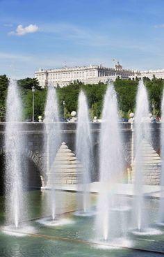El Palacio Real desde #Madrid Rio