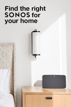 Inspire creativity all through your home with the Sonos PLAY:5. Bold. Pure. Dynamic. Intense. It's built to deliver pure, brilliant sound no matter where you put it. Get yours today.