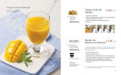 #Kuvings Whole Slow #Juicer #Juice #Recipe : Tango #Coulis de #Mango , #Batido de #Banano con #Nueces