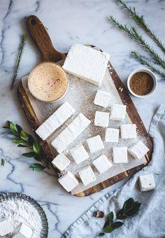 Vanilla-Rum Eggnog Marshmallows