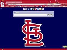 St. Louis Cardinals browser theme