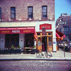 brunch, NYC, and the Diana F+: the perfect combination