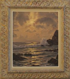 Roger DE LA CORBIERE (French 1893-1974) Original Oil Painting Seascape Marine in Art, Art from Dealers & Resellers, Paintings | eBay