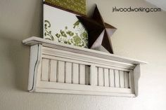 Beadboard Shelf (great way to use smaller wood scraps!)