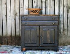 Black Furniture Heavily Distressed | Themed Furniture Day