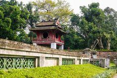 Khue Van Cac (ou Pavillon de la constellation de la littérature) est le symbole de #Hanoi #Vietnam (Copyright : kelvin tran/Shutterstock). Pour en savoir plus : https://www.amica-travel.com/vietnam-sites-a-decouvrir/nord-vietnam/hanoi/temple-litterature-van-mieu