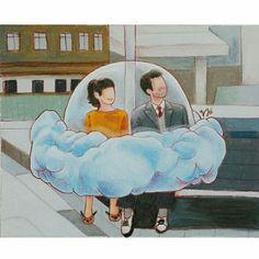 Mood Indigo,  Illustrations by Yeonju-kim