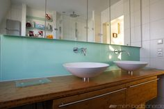 Waschbecken als Doppellösung