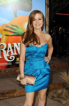 Isla Fisher Red Hair