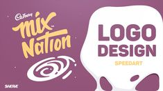 Illustrator Speedart: Mix Nation Logo design by Swerve™