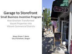 How Gresham, Oregon, Transform Vacant Properties into a Vibrant Comme…