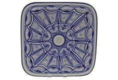 "Qamara Square Platter, 11.5"""