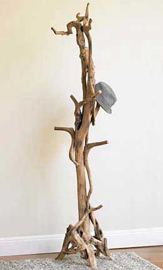 Entwined root coat stand from VivaTerra