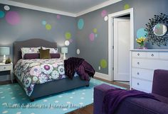 Allard & Roberts tween girl room ideas #ncdesign #tween