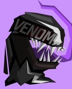 Venom - @bosslogic #popheadshots #venom