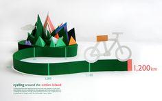 infographics papercut - Cerca con Google