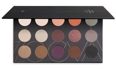 ZOEVA Eyeshadow Palette with 15  highly pigmented warm toned powder eyeshadows with matt and metallic finishes | Order online! #ZOEVA
