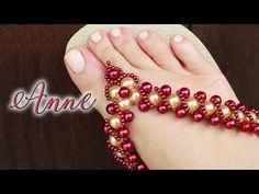 Chinelo decorado: Manta de pérolas para iniciantes (lucro certo💲💲💲) - YouTube Flip Flop Sandals, Flip Flops, Chrochet, Diy And Crafts, Jewelery, Beaded Bracelets, Beads, Flip Flop Decorations, Flip Flop Craft