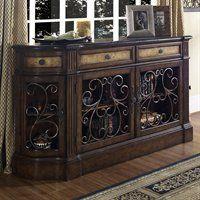 Pulaski Furniture 704255 Credenza Sideboard, Carmel
