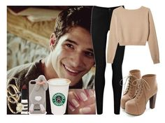 """""""Scott <33"""" by irish26-1 ❤ liked on Polyvore featuring Disney, Oasis, Miss Dora, Topshop and Moschino"""