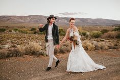 Stylish Indie Karoo Wedding in Matjiesfontein by Hewitt Wright Indie, South African Weddings, Ceremony Arch, Beaded Gown, Groom And Groomsmen, First Night, Boho Wedding, Wedding Styles, Real Weddings