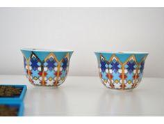 Coupelle apéritif porcelaine Musée Sursock Vitrail , Images d Orient