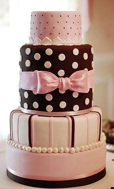 Cute Polka Dots Cakes