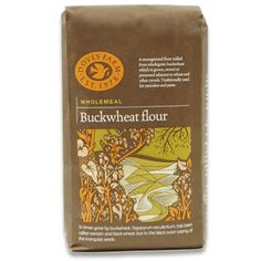 Wholemeal Buckwheat Flour 1kg | Doves Farm. Our Wholegrain Buckwheat Flour is milled the traditional way, using a stoneground process, from naturally gluten and wheat free wholegrain buckwheat, sometimes known as Sarrasin. It does, however, contain gluten from the adjacent growing, storage or processing of wheat. #artisanflour