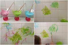 Une recette de peinture pour le bain.