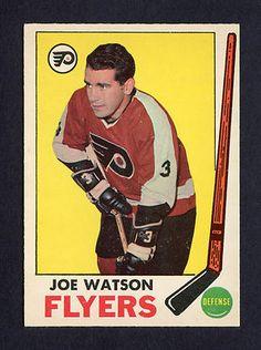 1969-70 O-PEE-CHEE JOE WATSON #93 NM-MT OPC HOCKEY CARD PHILADELPHIA FLYERS