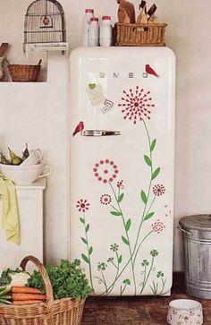 15 способов облагородить дизайн холодильника / Я - суперпупер