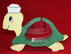 TURTLE Savings Piggy BANK See Through Clear Green Yellow Watch it Grow Kids Wood  http://www.ebay.com/itm/271358591207?ssPageName=STRK:MESELX:IT&_trksid=p3984.m1555.l2649