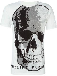 PHILIPP PLEIN 'Pilot' T-Shirt. #philippplein #cloth #t-shirt