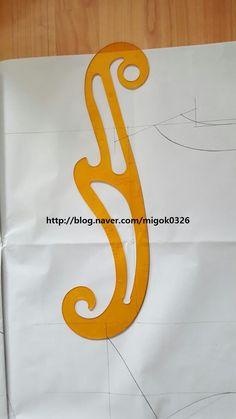 #기본패턴공부방 : 네이버 블로그 Fashion Sewing, Couture, Sewing Hacks, Fasion, Symbols, Letters, Stitch, Womens Fashion, Craft