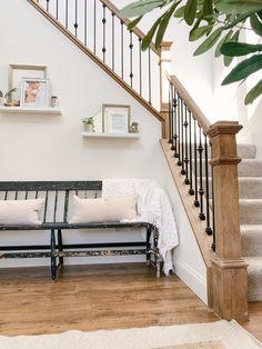 Hardwood Floor Stain Colors, Minwax Stain Colors, Hardwood Floors, Minwax Wood Stain, Red Oak Stain, Red Oak Floors, Oak Floor Stains, Oak Lumber, Staircase Remodel