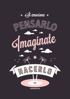 By Pulpo, Agencia Creativa de Marketing Online en Las Palmas y Madrid. #creatividad #diseño #tipografía #carteles
