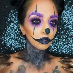 Who's ready for Halloween ??⚰⚰ my take on #creepyclown of…
