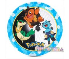 Pokemon 'Black and White' Large Paper Plates (8ct)
