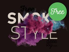 FREE Smoke Scene Mockup by CruzineDesign