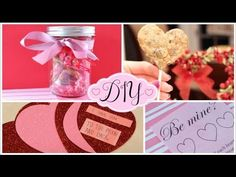 ▶ DIY Valentine's Day Gifts & Treats! - YouTube