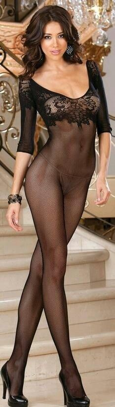 Nude girl full body fishnet opinion you