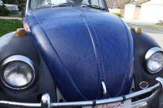 #VWBUG #headlights #hood #blueblack