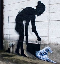 """""""Everybody is an Artist"""" by Pejac in Tokyo, 6/15 (LP)"""