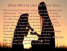 What INFJ Is Like At Their Best