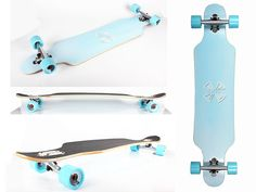 Xtreme Free Professional Speed Drop Through Complete Longboard Skateboard