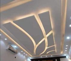 Drawing Room Ceiling Design, Gypsum Ceiling Design, Interior Ceiling Design, House Ceiling Design, Ceiling Design Living Room, Bedroom False Ceiling Design, Bedroom Pop Design, Home Room Design, Simple False Ceiling Design